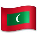 Flag: Maldives on LG G5