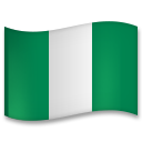 Flag: Nigeria on LG G5