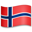 Flag: Norway on LG G5