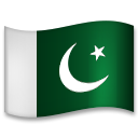 Flag: Pakistan on LG G5
