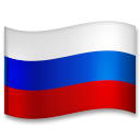 Flag: Russia on LG G5