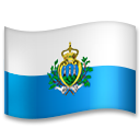 Flag: San Marino on LG G5