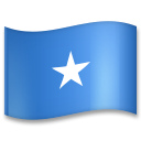 Flag: Somalia on LG G5