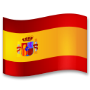 Flag: Spain on LG G5
