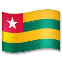 Flag: Togo on LG G5