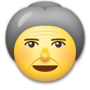 Old Woman on LG G5