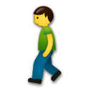 Person Walking on LG G5