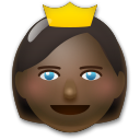 Princess: Dark Skin Tone on LG G5