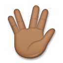 Vulcan Salute: Medium-Dark Skin Tone on LG G5
