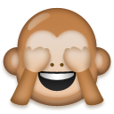 See-No-Evil Monkey on LG G5