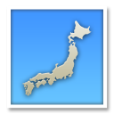 Map of Japan on LG G5