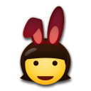 People With Bunny Ears on LG G5