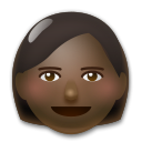 Woman: Dark Skin Tone on LG G5