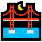 Bridge at Night on Microsoft Windows 10 Fall Creators Update