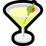 Cocktail Glass on Microsoft Windows 10 Fall Creators Update