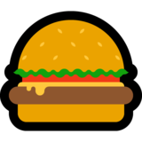 Hamburger on Microsoft Windows 10 Fall Creators Update