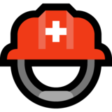 Rescue Worker's Helmet on Microsoft Windows 10 Fall Creators Update