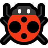 Lady Beetle on Microsoft Windows 10 Fall Creators Update