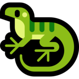 Lizard on Microsoft Windows 10 Fall Creators Update