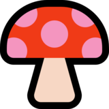 Mushroom on Microsoft Windows 10 Fall Creators Update