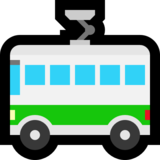 Trolleybus on Microsoft Windows 10 Fall Creators Update