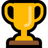 Trophy on Microsoft Windows 10 Fall Creators Update