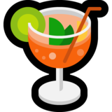 Tropical Drink on Microsoft Windows 10 Fall Creators Update