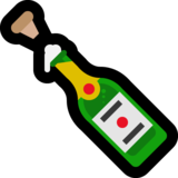 Bottle With Popping Cork on Microsoft Windows 10 April 2018 Update