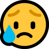 Sad but Relieved Face on Microsoft Windows 10 April 2018 Update