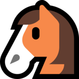 Horse Face on Microsoft Windows 10 April 2018 Update