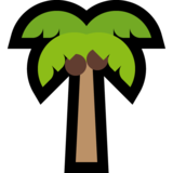 Palm Tree on Microsoft Windows 10 April 2018 Update