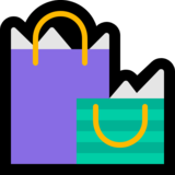 Shopping Bags on Microsoft Windows 10 April 2018 Update