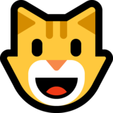 Grinning Cat on Microsoft Windows 10 April 2018 Update