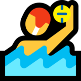 Person Playing Water Polo on Microsoft Windows 10 April 2018 Update