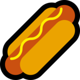 Hot Dog on Microsoft Windows 10 October 2018 Update