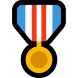Military Medal on Microsoft Windows 10 October 2018 Update