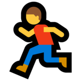 Person Running on Microsoft Windows 10 October 2018 Update