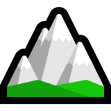 Snow-Capped Mountain on Microsoft Windows 10 October 2018 Update