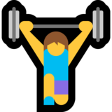 Woman Lifting Weights on Microsoft Windows 10 October 2018 Update