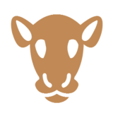 Cow Face on Microsoft Windows 8.1