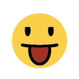 Face with Tongue on Microsoft Windows 8.1