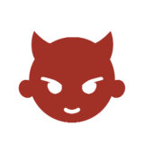 Angry Face with Horns on Microsoft Windows 8.1