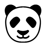 Panda Face on Microsoft Windows 8.1