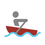 Person Rowing Boat on Microsoft Windows 8.1