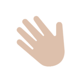 Waving Hand on Microsoft Windows 8.1