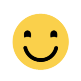 Smiling Face on Microsoft Windows 8.1