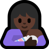 Breast-Feeding: Dark Skin Tone on Microsoft Windows 10 May 2019 Update