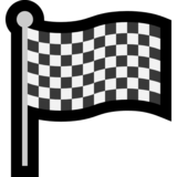 Chequered Flag on Microsoft Windows 10 May 2019 Update