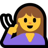 Deaf Person on Microsoft Windows 10 May 2019 Update