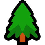 Evergreen Tree on Microsoft Windows 10 May 2019 Update